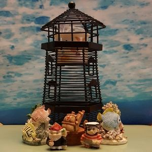 Other - Lighthouse tealight holder nautical collection